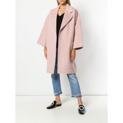Oversized boxy-fit coat, Rosa