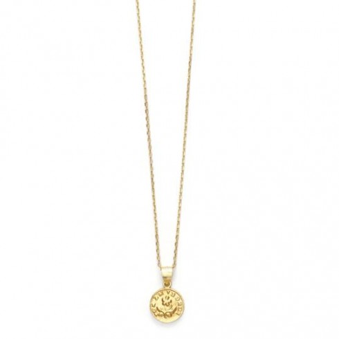 FORGET ME NOT PENDANT, Gold
