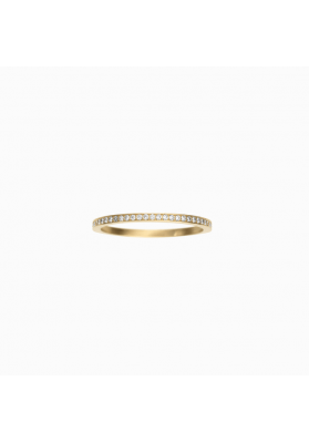Rue de Diamant ring, 18K