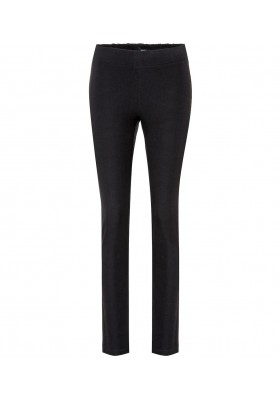 Gabardine Stretch Legging, Black