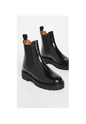 CASTAY BOOTS, BLACK